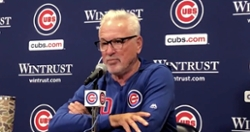 WATCH: Joe Maddon addresses Anthony Rizzo's injury
