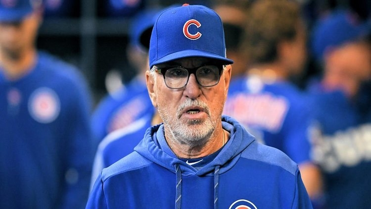 According to MLB insider Jon Heyman, the Los Angeles Angels are interested in hiring Joe Maddon as their next manager. (Credit: Michael McLoone-USA TODAY Sports)