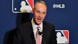 MLB commissioner apologizes for calling WS trophy a 'piece of metal""