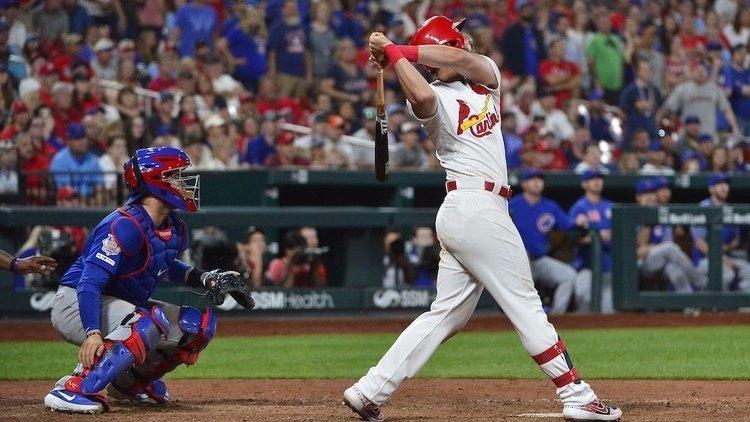 Cardinals slugger Matt Carpenter hit a walk-off single to defeat the Cubs. (Credit: Jeff Curry-USA TODAY Sports)