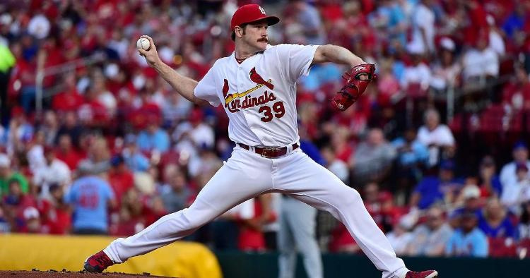 The St. Louis Cardinals will be without star pitcher Miles Mikolas for the rest of the season. (Credit: Jeff Curry-USA TODAY Sports)