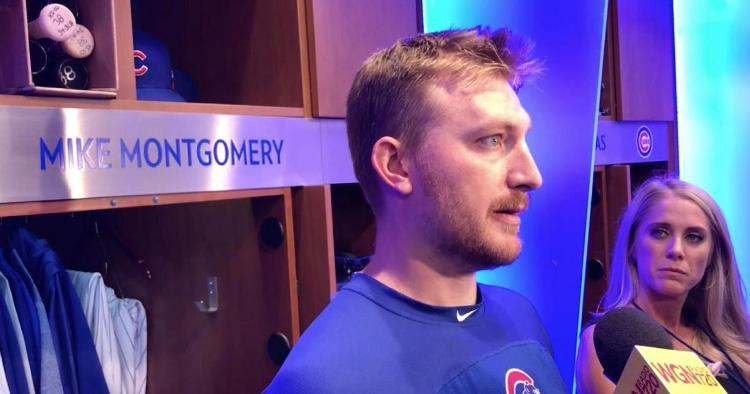 After being traded by the Chicago Cubs, relief pitcher Mike Montgomery reflected on his iconic 2016 World Series save.