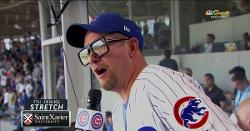 WATCH: Raptors coach Nick Nurse sings stretch wearing Harry Caray glasses