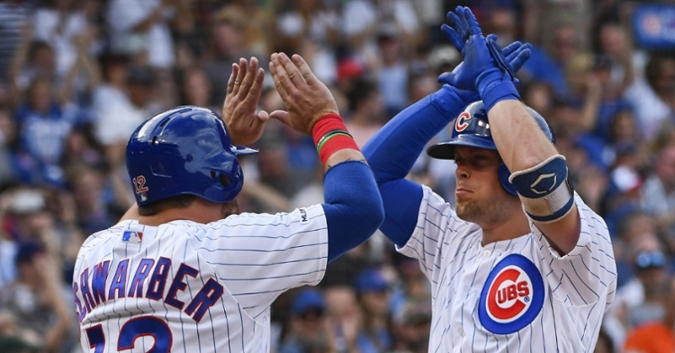 Hoerner and Schwarber are big pieces of the Cubs future (Matt Marton - USA Today Sports)