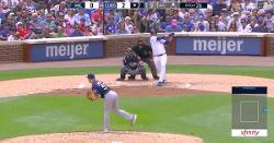WATCH: Jose Quintana drives in run with first career extra-base hit