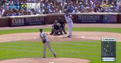 WATCH: Jose Quintana takes matters into his own hands, swats RBI base hit