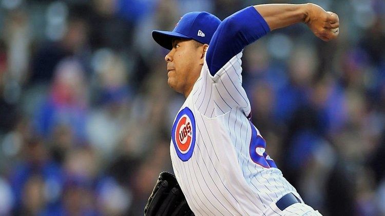 Cubs starter Jose Quintana has been pitching lights out as of late. (Credit: Quinn Harris-USA TODAY Sports)