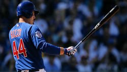 Anthony Rizzo leaves game due to injury