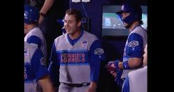 WATCH: Mic'd-up Anthony Rizzo thanks his home run, calls jerseys 'sick'