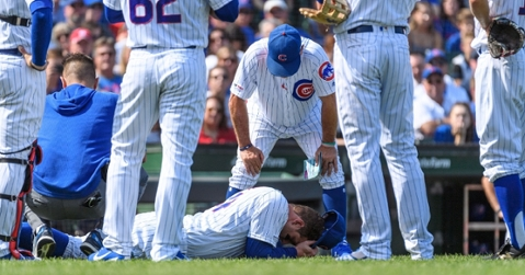 Cubs lose Anthony Rizzo to injury, blow out Pirates for series sweep