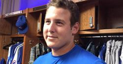 WATCH: Anthony Rizzo talks about Cubs' new good-luck charm for road games