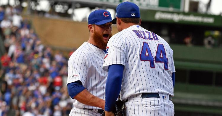 Kimbrel gets his first save as a Cubs player (Matt Marton - USA Today Sports)