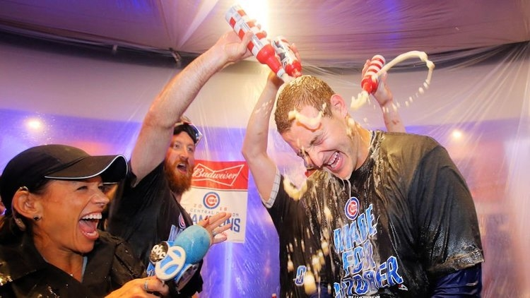Cubs hope to be celebrating like 2016 (Jerry Lai - USA Today Sports)