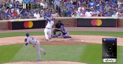 WATCH: Anthony Rizzo hammers RBI line drive off wall in left-center