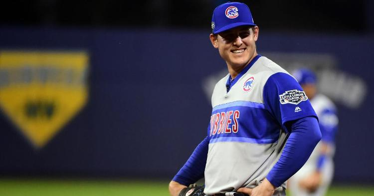 Anthony Rizzo is likely to bat second behind KB(Evan Habeeb - USA Today Sports)