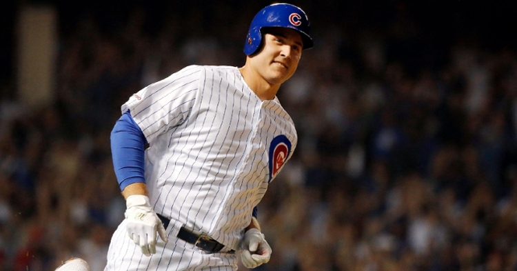 Rizzo was mic'd up on Saturday night (Jon Durr - USA Today Sports)