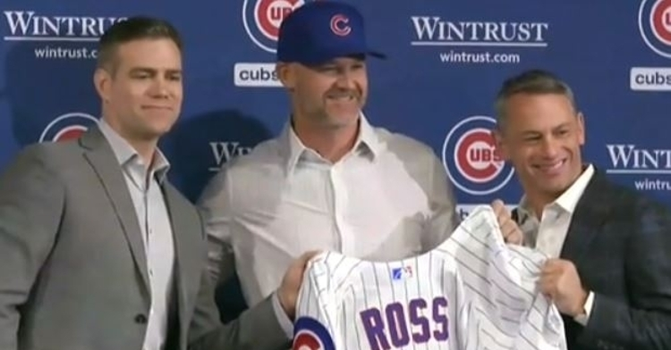 Chicago Cubs: Quotes from David Ross press conference