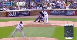 WATCH: Addison Russell powers out go-ahead 2-run blast