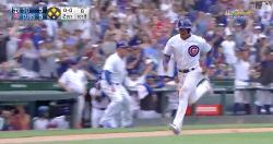 WATCH: Cubs score winning run due to Padres defensive blunder