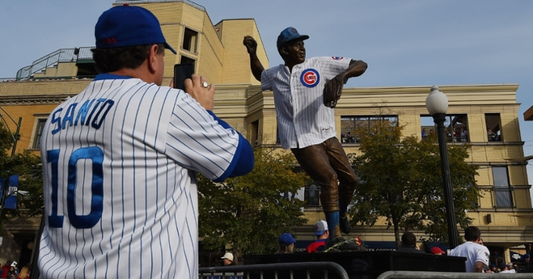 RIP Cubs great Ron Santo (Tommy Gilligan - USA Today Sports)