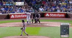 WATCH: Kyle Schwarber smashes 407-foot 2-run 'Schwarbomb'