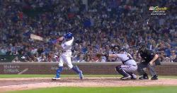 WATCH: Cubs plate three runs on four hits in thrilling sixth inning