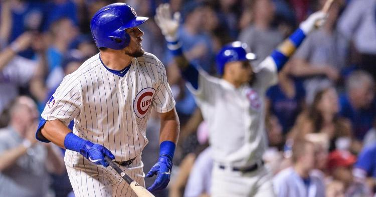 David Ross stated Monday that Schwarber will play some DH (Daniel Bartel - USA Today Sports)