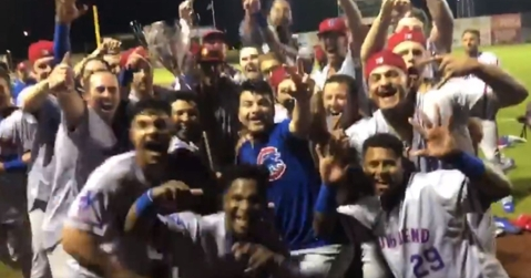 Down on Cubs Farm: South Bend wins Midwest League Title