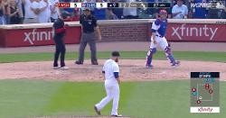 WATCH: Victor Caratini, Craig Kimbrel fired up after critical strikeout