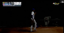 WATCH: Pedro Strop dances in dark after Anthony Rizzo's grand slam