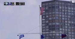 WATCH: Cubs fans at Wrigley give Mother Nature standing ovation as breeze rolls in