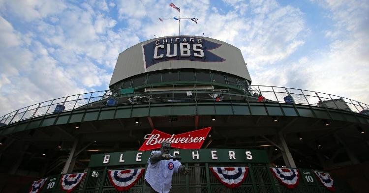 The Cubs organization is anticipating reduced capacity at Wrigley Field for at least a portion of the 2021 season. (Credit: Jerry Lai-USA TODAY Sports)