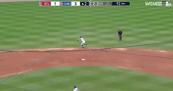 WATCH: Ben Zobrist makes impressive jump throw to end inning