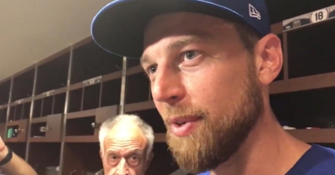 Ben Zobrist produced the final highlight of the Cubs' 2019 season by striking out Yadier Molina to cap off a scoreless inning on the mound.