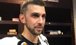 WATCH: Cishek talks about his 7-out save, receives funny compliment from Maddon