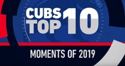 WATCH: Top 10 Cubs moments of 2019