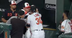 WATCH: Former Cubs bench coach gets in heated confrontation in dugout