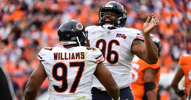 Hicks' injury really hurt the Bears defense in 2019 (Ron Chenoy - USA Today Sports)