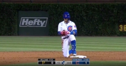 WATCH: Javier Baez lays down perfect bunt as Cubs take lead on Pirates