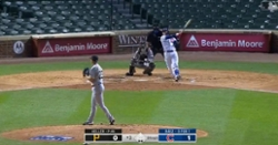 WATCH: Javier Baez obliterates pitch for 448-foot moonshot