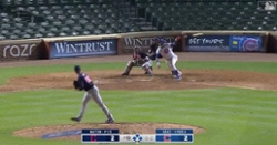 WATCH: Javier Baez hits walkoff single in extra innings