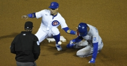 Javy Baez explains how he makes those magical no-look tags