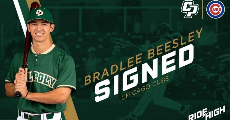 Beesley is one of the top undrafted prospects (Photo credit: Cal Poly)