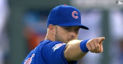 WATCH: David Bote helps Cubs turn two with great play at second base