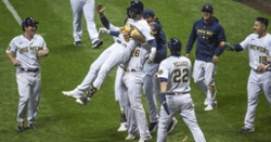 Brewers win war of attrition versus Cubs in walkoff fashion