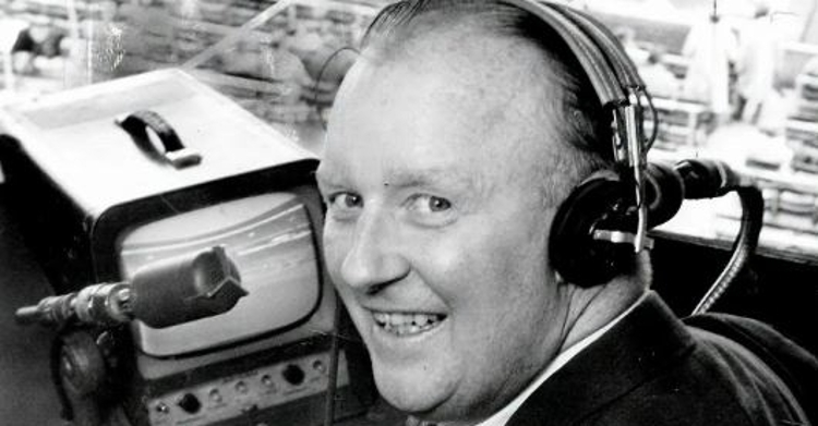 Jack Brickhouse was a beloved Cubs broadcaster