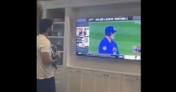 WATCH: Kris Bryant showing 2016 World Series Game 7 to baby boy