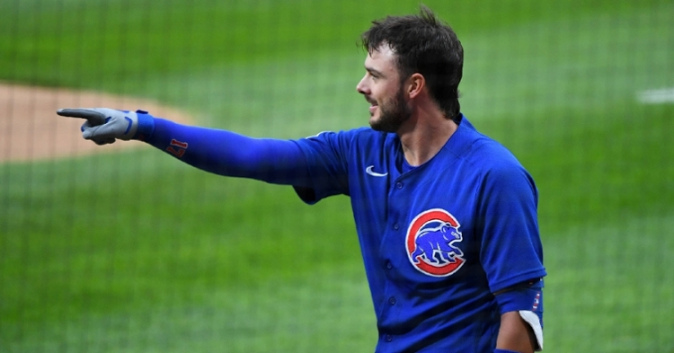 Kris Bryant is back in the lineup (Mike Dinovo - USA Today Sports)
