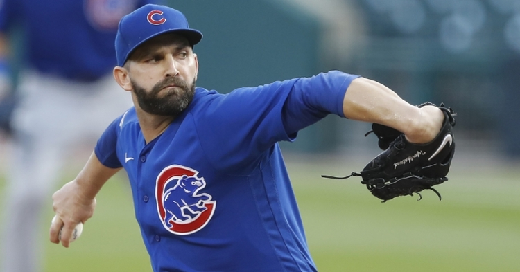 Tyler Chatwood could be with another club soon (Rah Mehta - USA Today Sports)