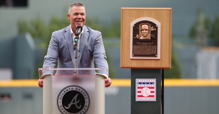 Chipper Jones was one of the top hitters of his generation (Jason Getz - USA Today Sports)